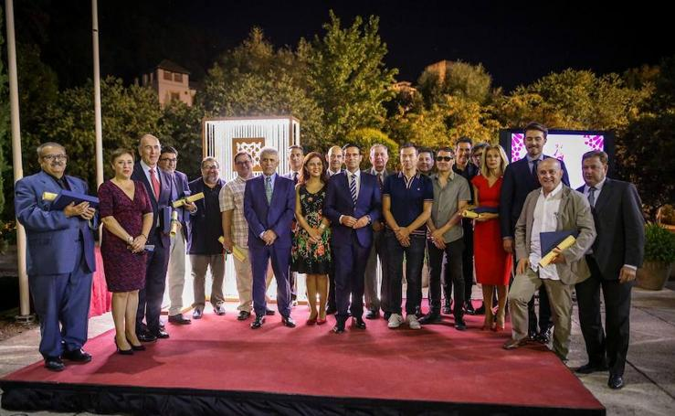 Granada entrega los Premios al Prestigo Turístico