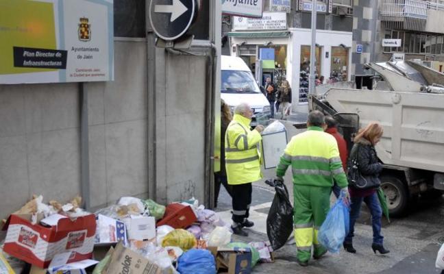 Los jienenses avisarán por el móvil a FCC de la suciedad en sus calles