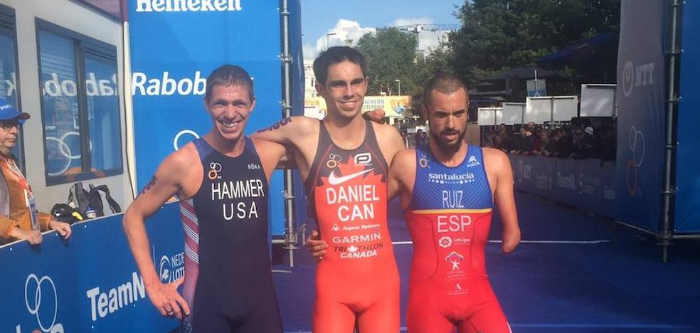 El almeriense Jairo Ruiz, medalla de plata en el Mundial