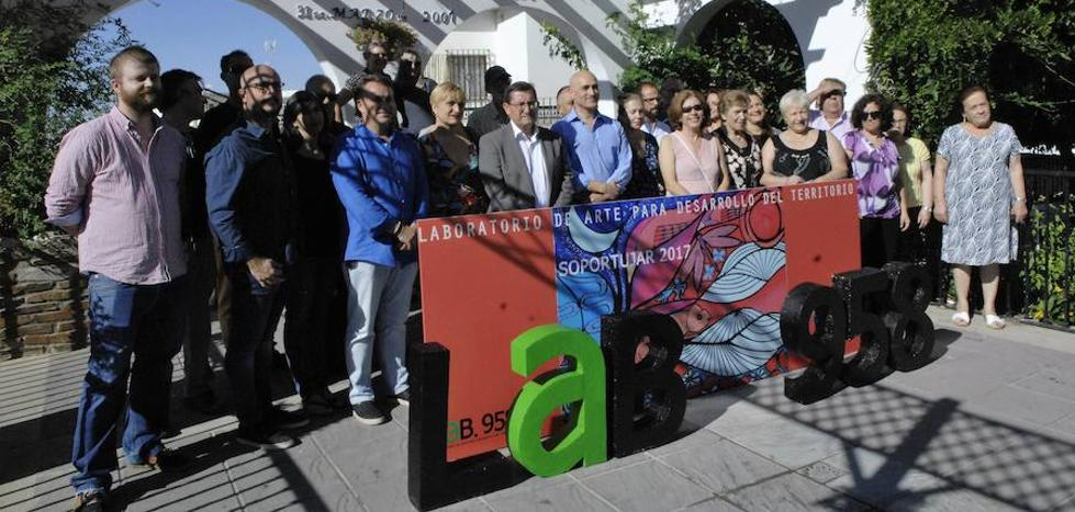 José Entrena asiste en Soportújar a la presentación del Laboratorio de Arte para Desarrollo del Territorio