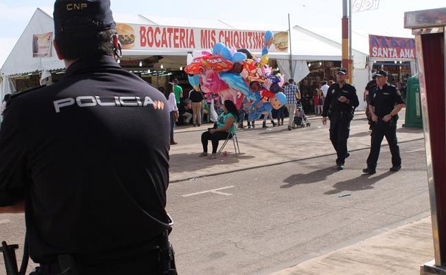 Una Feria con más policía, controles y transporte público