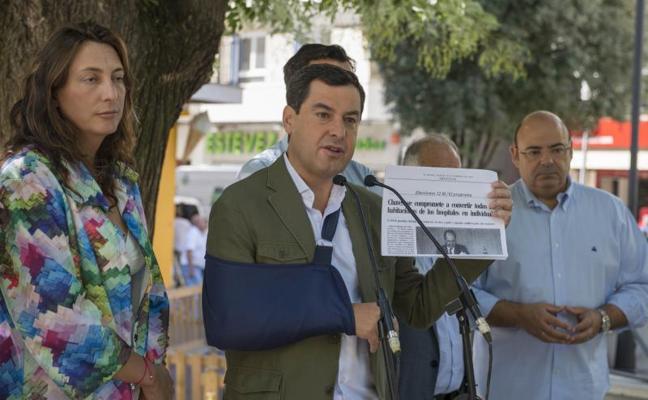 """Moreno propone a Susana Díaz """"un gran pacto por Jaén"""""""