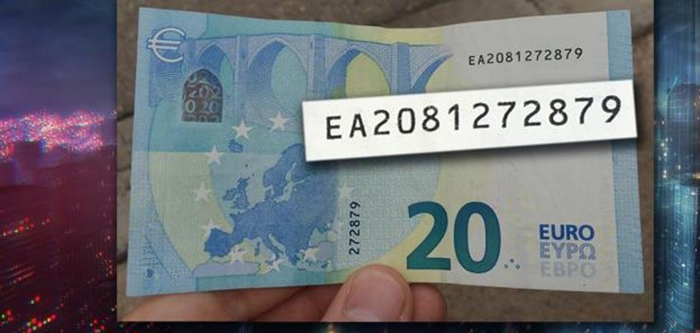 Nuevo giro al billete de 20 que vale 6.000 euros: ¿dónde salió después del bar?