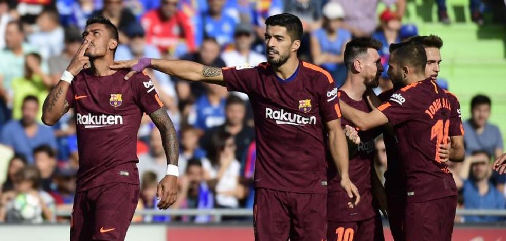El Barcelona ha cambiado su suerte