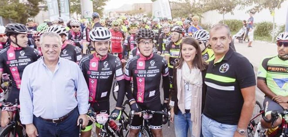 Más de 200 aficionados se suman a la II Ruta Cicloturista de la Semana de la Movilidad