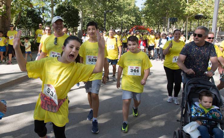 Mil setecientos granadinos corren por la salud