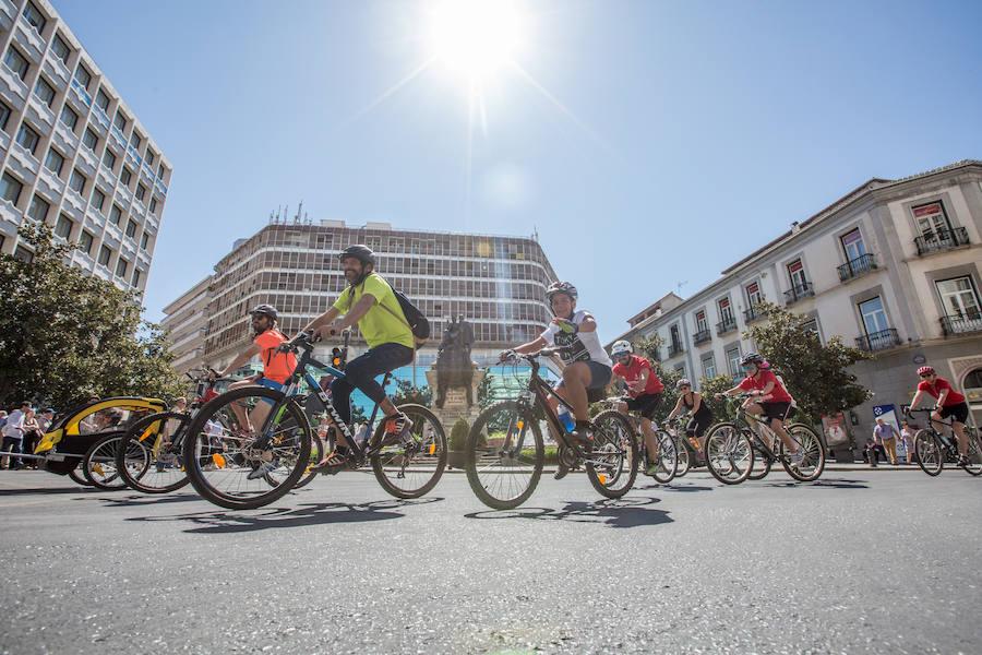 Granada celebra la XX Marcha en Bici