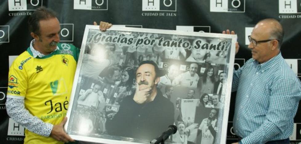 Santi Rodríguez, socio de honor