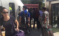Otra avería en el tren de Almería: ahora 75 minutos de retraso