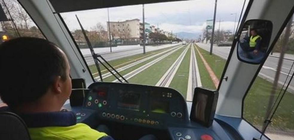 Así es el metro de Granada, por dentro