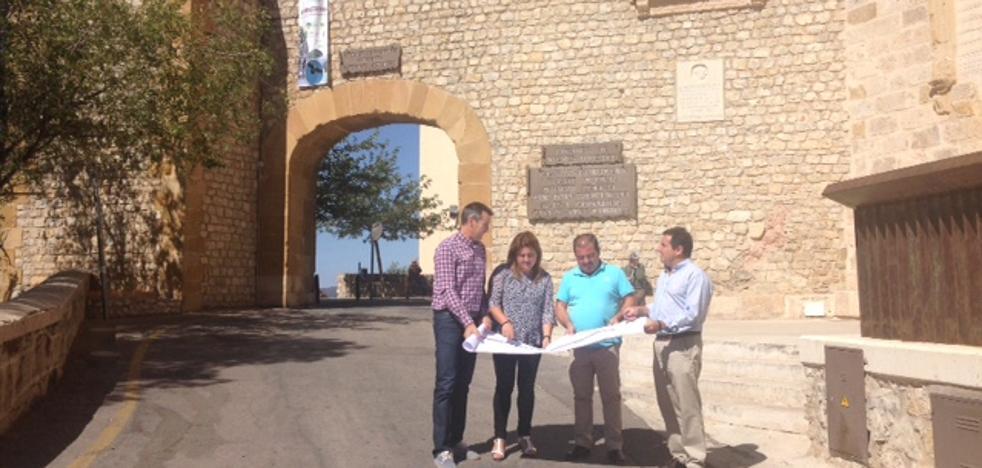 Inversión de 380.000 euros para adecuar el acceso al conjunto monumental de Segura de la Sierra