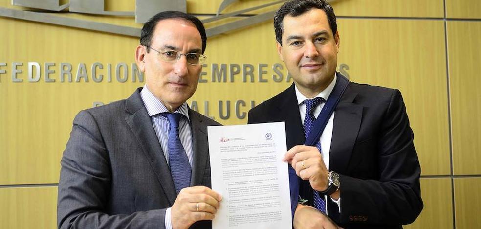 CEA y PP-A defienden el Estado de Derecho y piden diálogo tras el 1-O