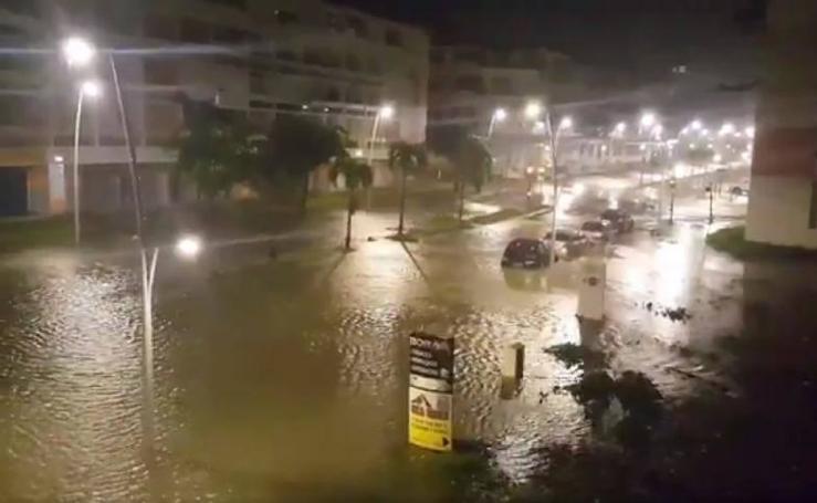 La estela destructora del huracán 'María'