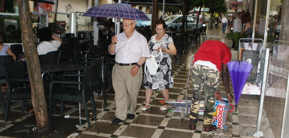 Opción de lluvia para el viernes en Jaén