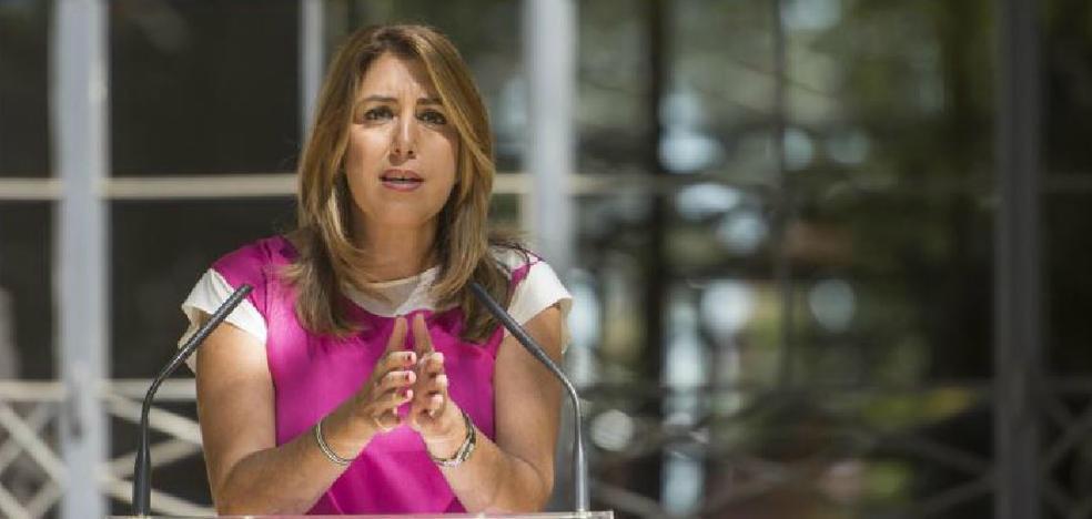 """Susana Díaz ha hecho un """"llamamiento a la tranquilidad y a la serenidad"""""""