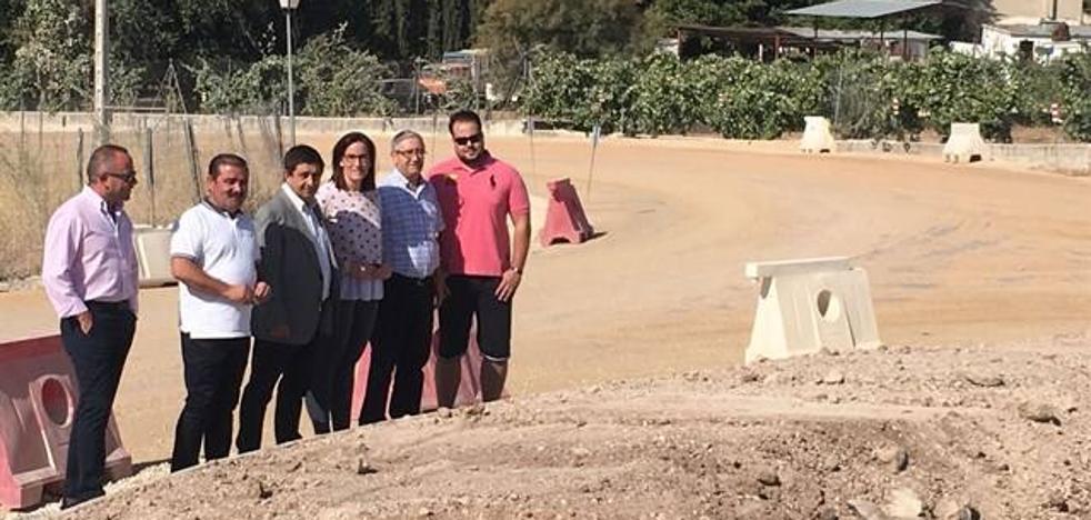 Inversión de cerca de 500.000 euros para el ensanche del acceso a Fuensanta de Martos