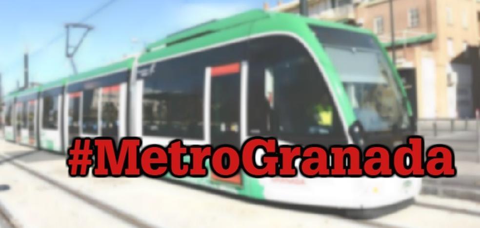 Cuenta tu experiencia en redes sociales con el hashtag #MetroGranada