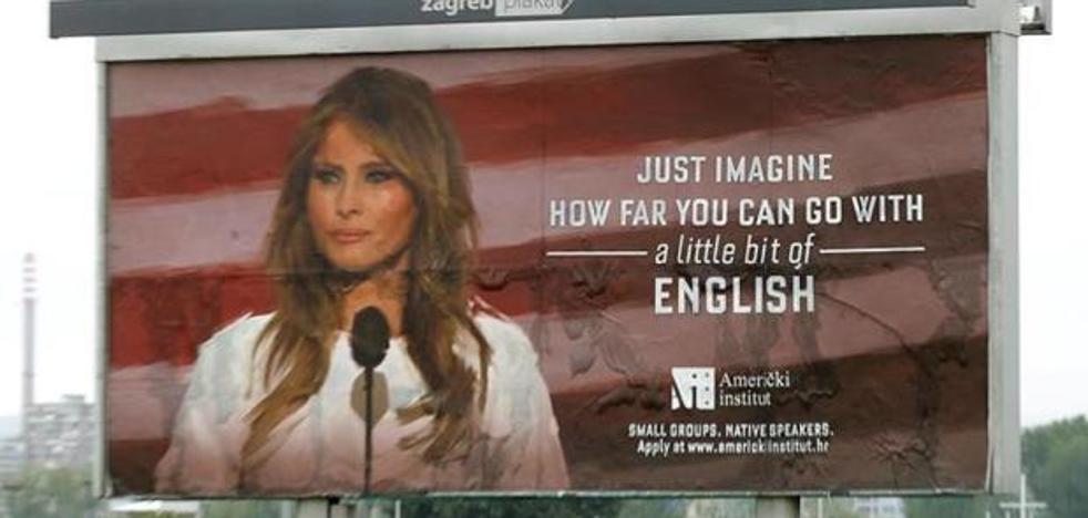 Melania Trump ordena, bajo amenaza, la retirada de unos polémicos carteles con su imagen