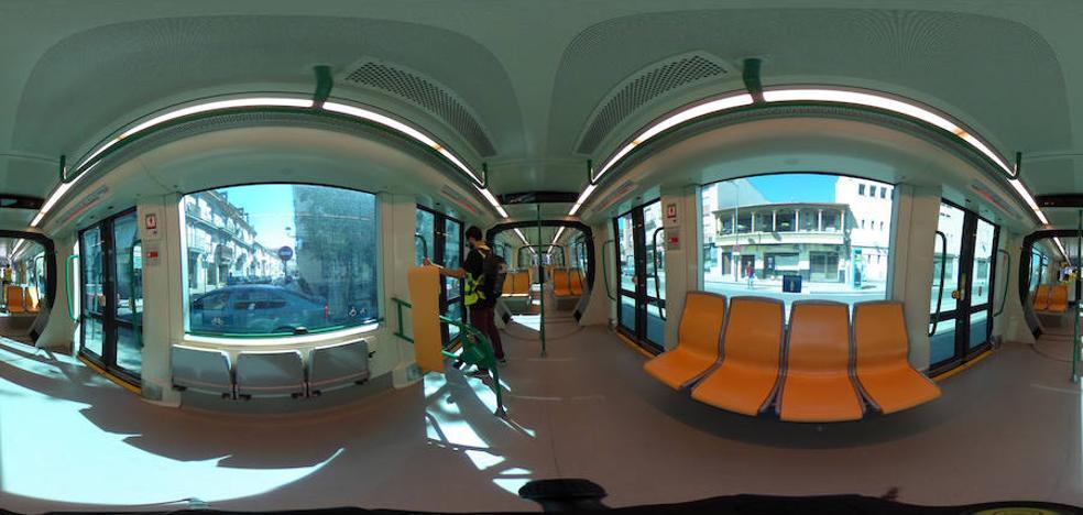 Pasea por el metro de Granada en 360º