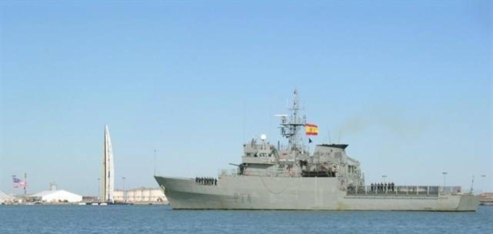 """El patrullero """"Atalaya"""" de la Armada recalará en el puerto de Almería"""