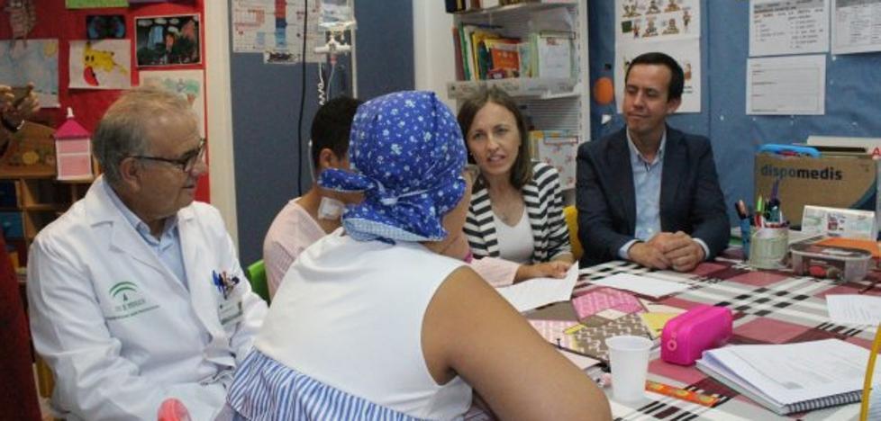 Comienza el curso escolar para alrededor de 800 menores en las aulas hospitalarias