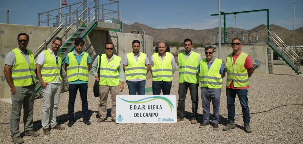 La ejecución de las obras de la EDAR de Uleila del Campo supera el 80%