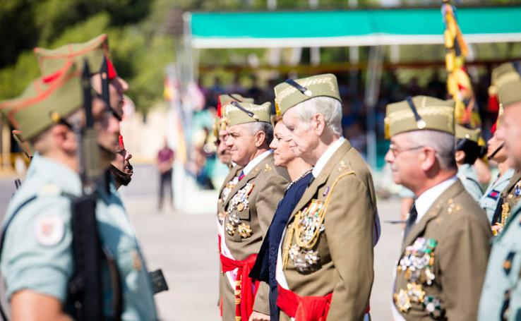 La Legión española cumple 97 años