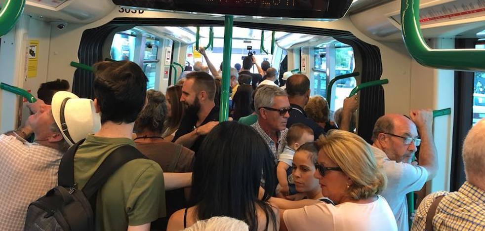 Granada estrena su metro