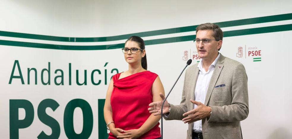 """El PSOE afirma que la """"estabilidad"""" del Gobierno andaluz le """"sienta muy bien a Almería"""""""