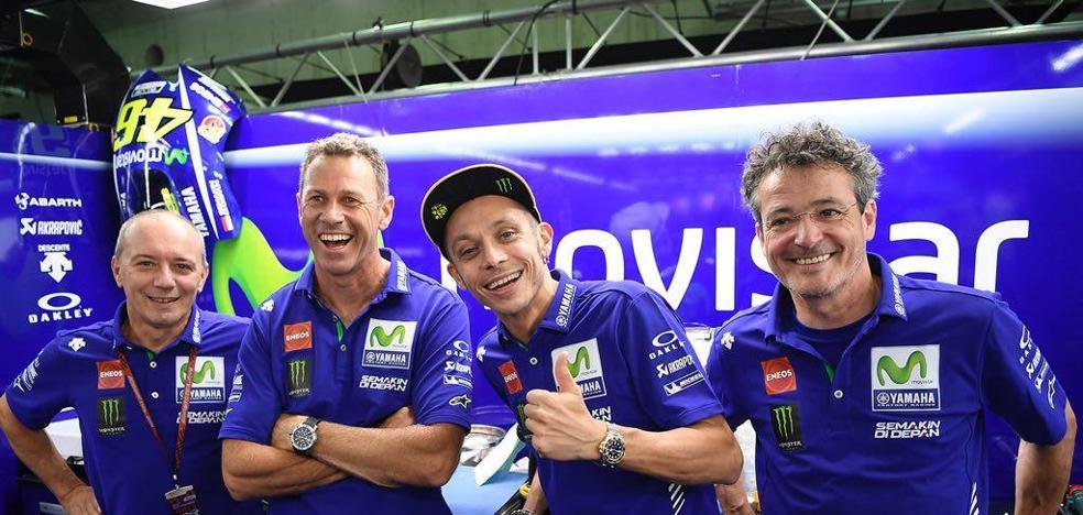 Rossi: «Sufrí mucho perdiéndome Misano»