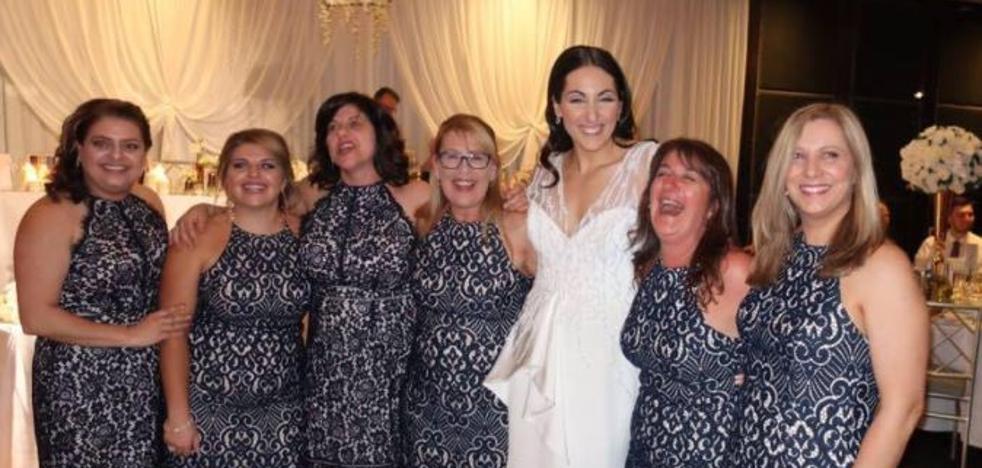 La coincidencia más incómoda: una boda, seis mujeres y un mismo vestido