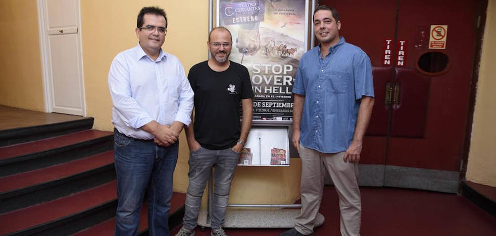 Juan Gabriel García y David Turpín ponen el sello almeriense a la película 'Parada en el infierno'