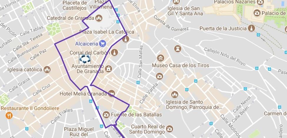 Horario e itinerario de la procesión de la Virgen de las Angustias: cortes de tráfico y cambios en los autobuses