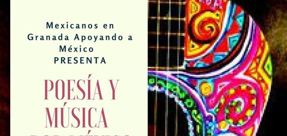 Encuentro artístico en solidaridad con México