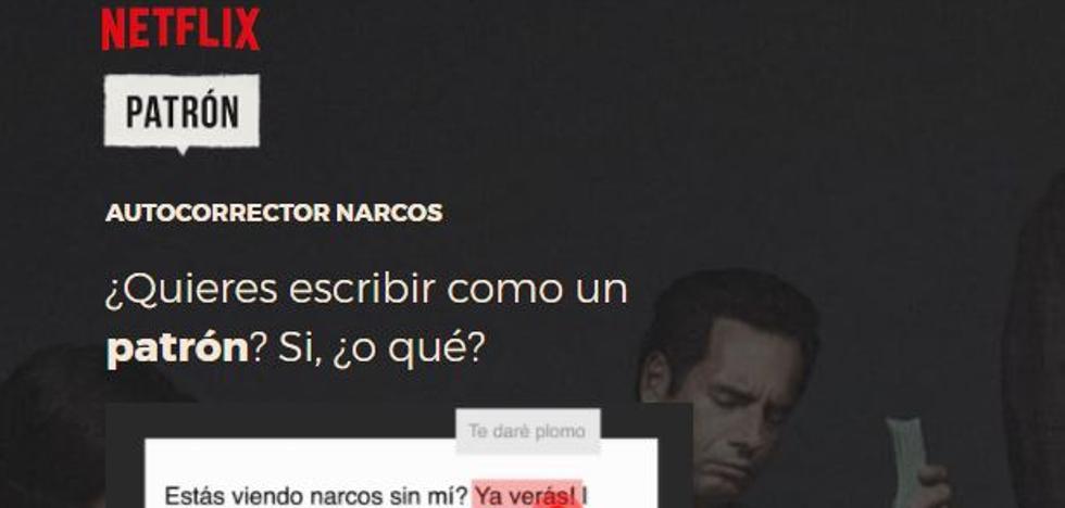 Crean una un autocorrector para hablar como los protagonistas de 'Narcos'