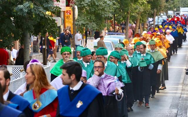 La Universidad de Granada inicia el curso con 46.000 estudiantes y casi sin deuda