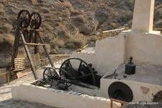 La máquina de vapor más antigua de España, se cae
