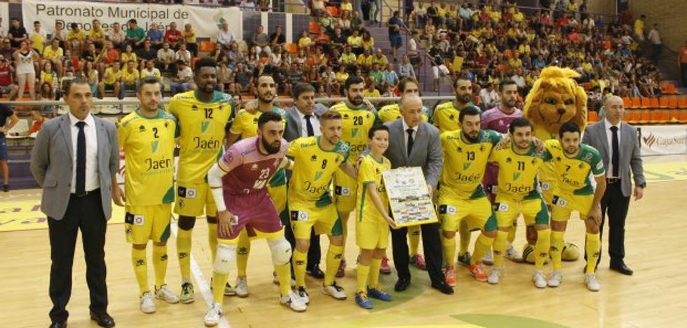 Chino lidera la fiesta amarilla en el debut en casa del Jaén Paraíso Interior FS