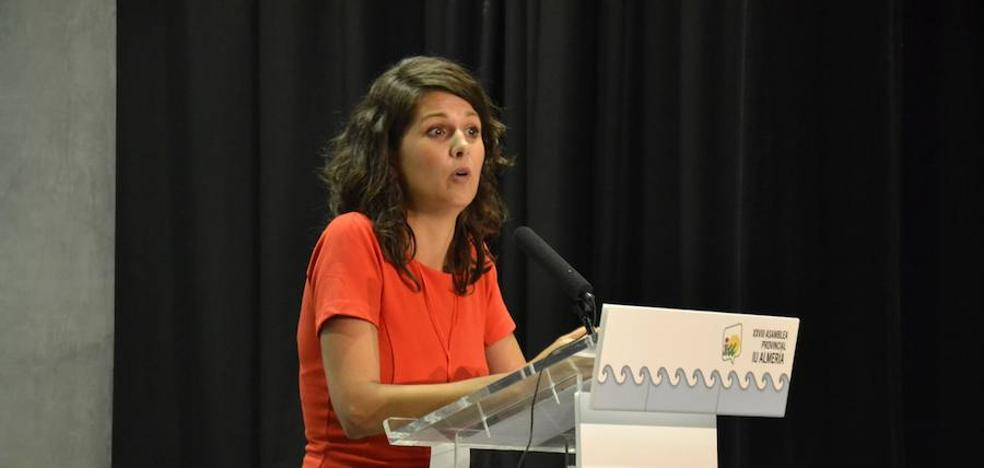 María Jesús Amate dirigirá el futuro de IU en Almería