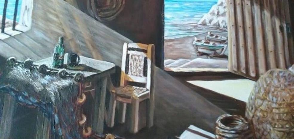El estilo pictórico de los 'rincones mediterráneos' del almeriense Frank Barry