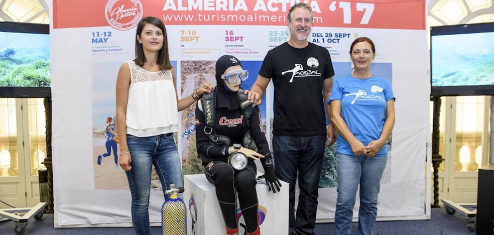 La Aventura Submarina 'Costa de Almería' descubrirá los fondos marinos de Níjar y Pulpí este fin de semana