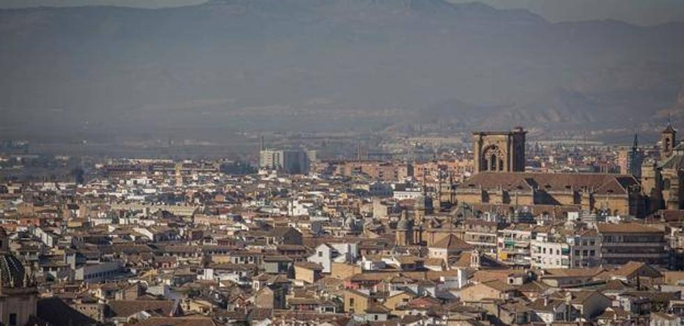 Granada, entre las grandes ciudades que no cumplen con los niveles de buena calidad del aire