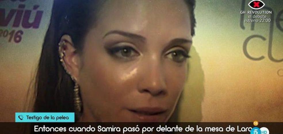 La brutal pelea con puñetazos y patadas entre Samira Salomé y Lara Ruiz