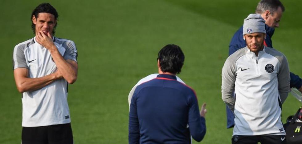 Neymar y Cavani compartirán la responsabilidad de lanzar los penaltis