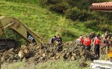 Mueren un hombre y su suegro al quedar sepultados cuando abrían una zanja en su chalé en Vizcaya
