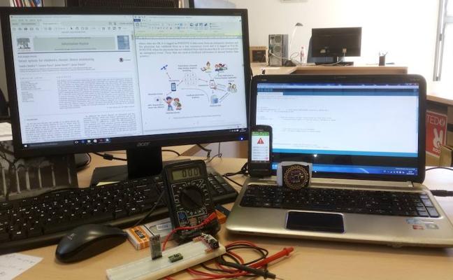 Idean un nuevo sistema para la monitorización de niños con enfermedades crónicas
