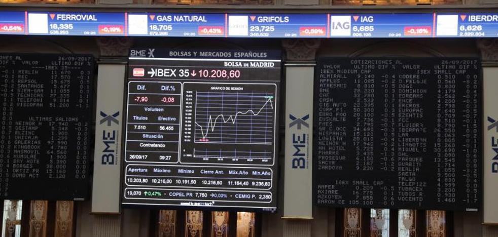 Aena cede casi un 2,3% en Bolsa tras la dimisión de Vargas