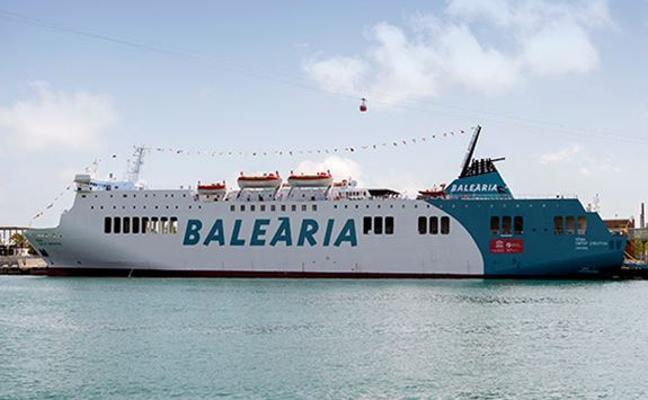El ferri 'Dénia Ciutat Creativa' de Baleària operará la línea Almería-Melilla con cuatro salidas