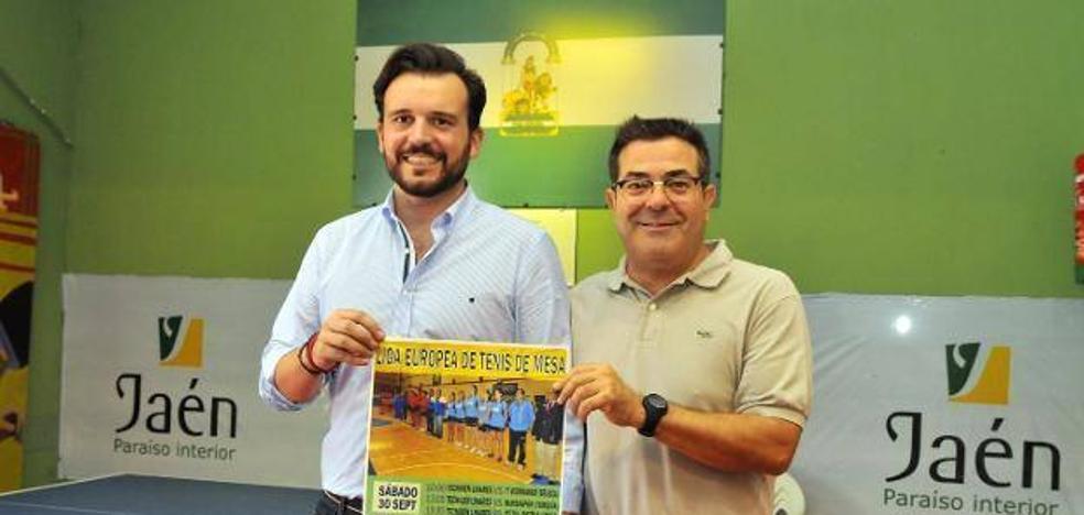 La liga europea de tenis de mesa, en Linares