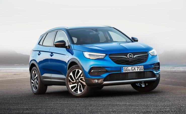 El nuevo Opel Grandland X en imágenes